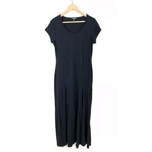 Lauren Ralph Lauren Womens Maxi Dress Black XL